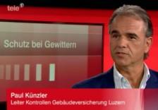 TV-Interview zum Thema Blitzschutz